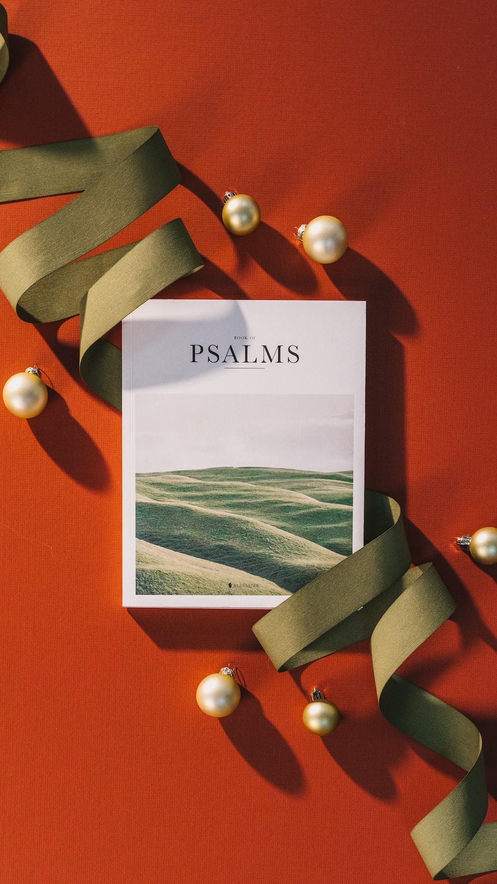 Psalms poster