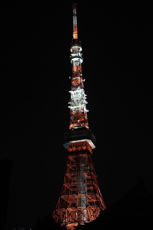 brown and grey metal tower