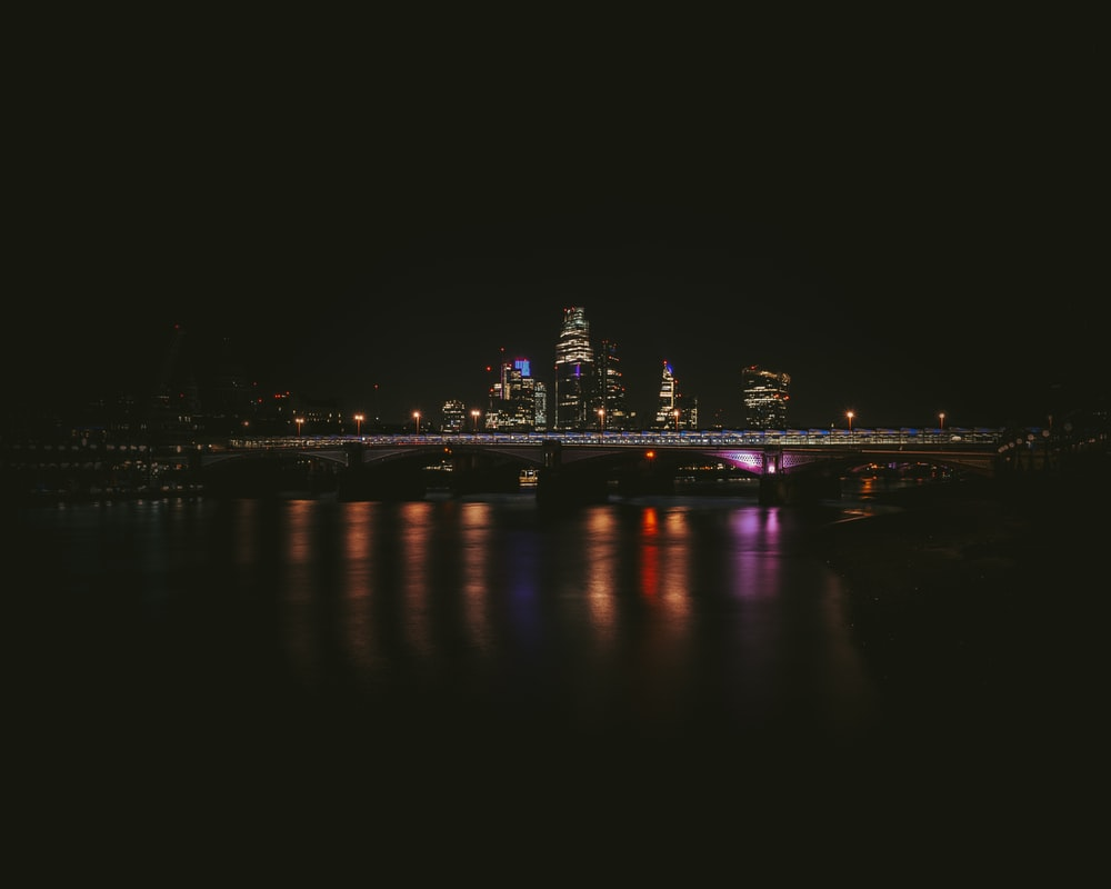 cityscape photography of during nighttime