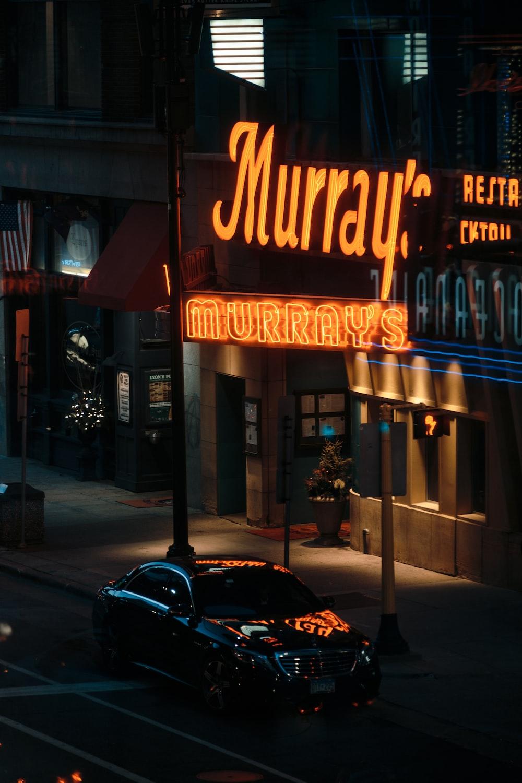 Murray signage