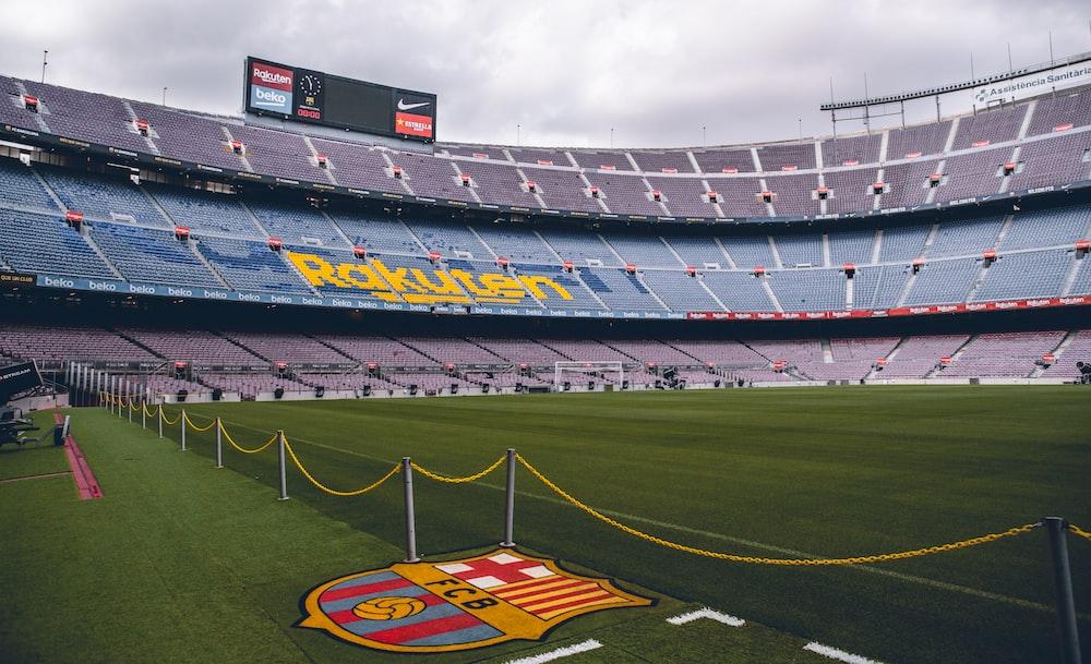 soccer field scenery
