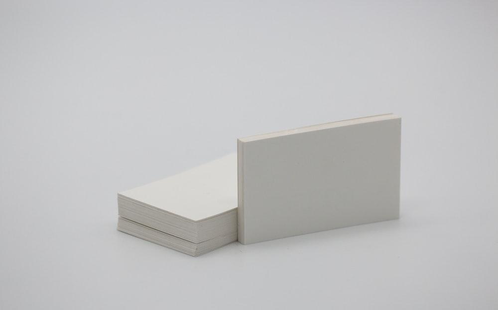 rectangular white box