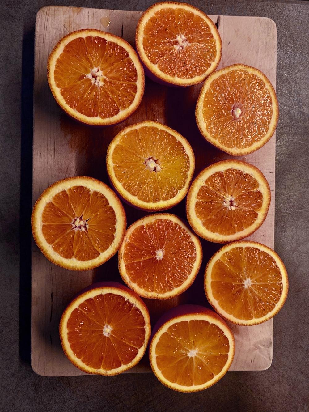 sliced fruits ]