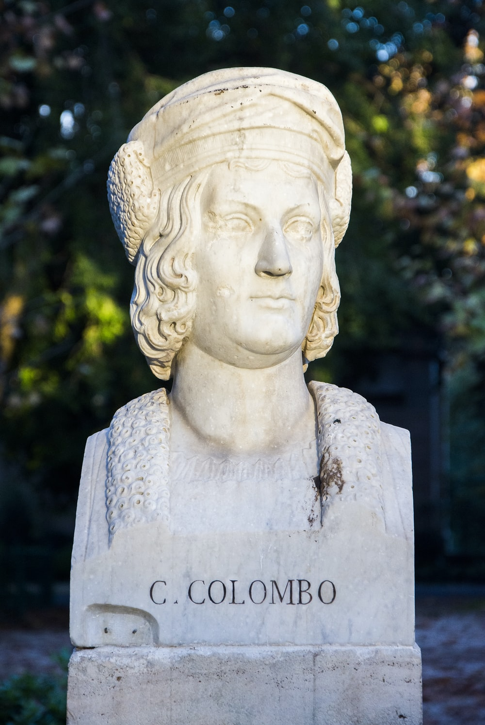C. Colombo head bust