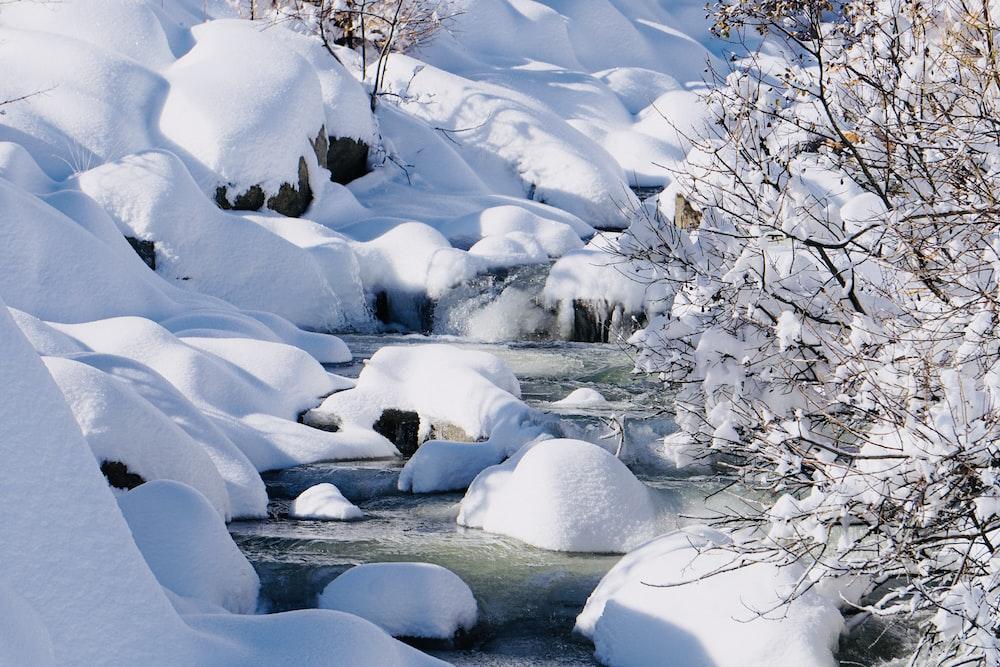 icysurface and lake