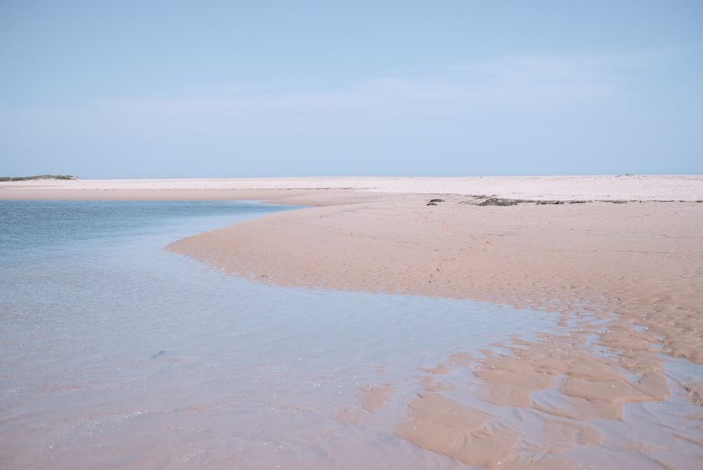 seashore during day