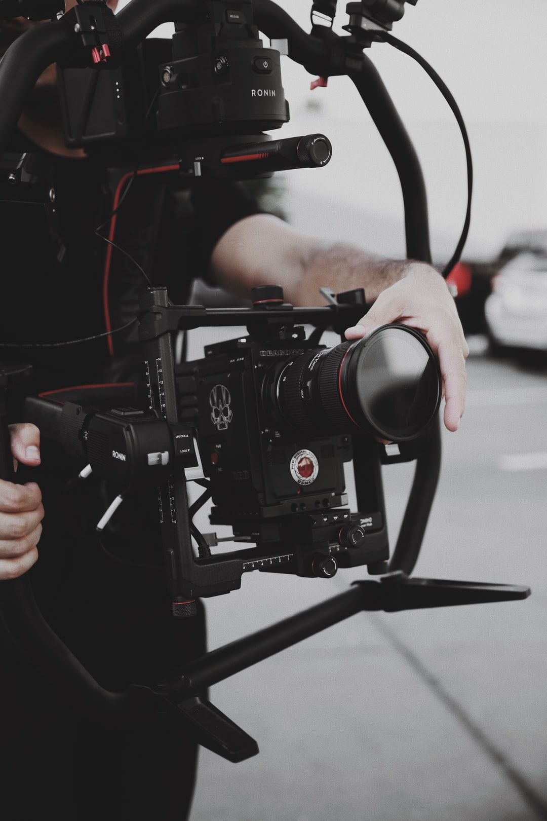 Ronin Gimbal with a Red Gemini Camera