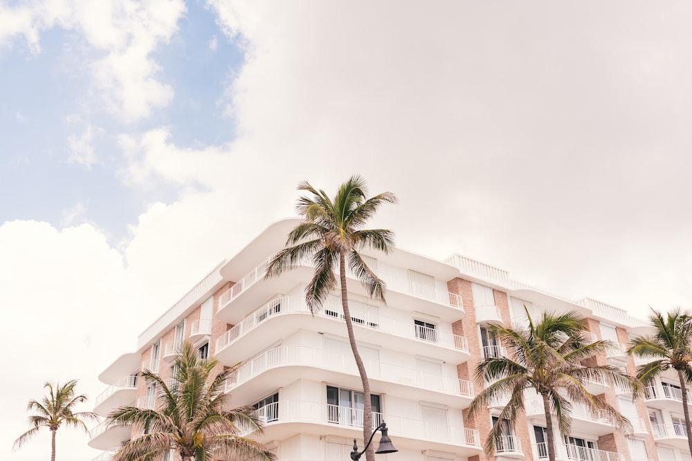 white concrete building photograph