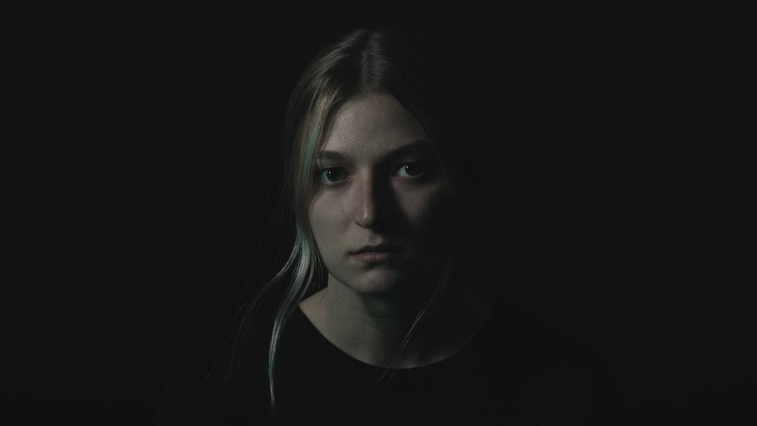 Dark studio photography