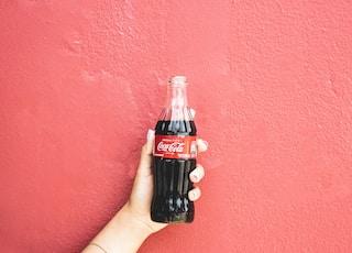 Coca-cola soda bottle