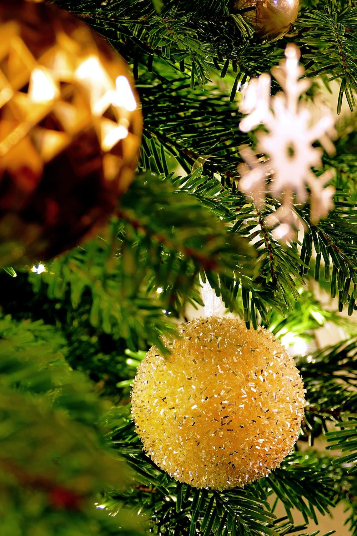 brown Christmas bauble