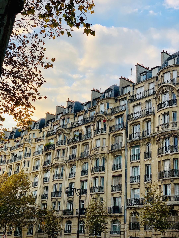 Architecture parisienne, toujours dans le 16ème arrondissement de la Capitale.