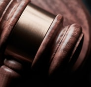 closeup photo of gavel