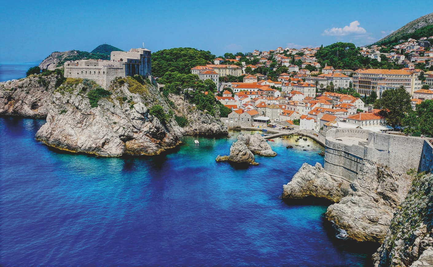 in April for a holiday to Croatia
