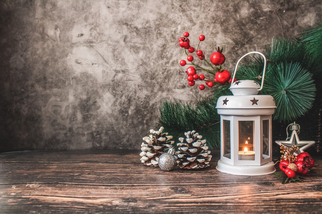 Christmas time decoration background