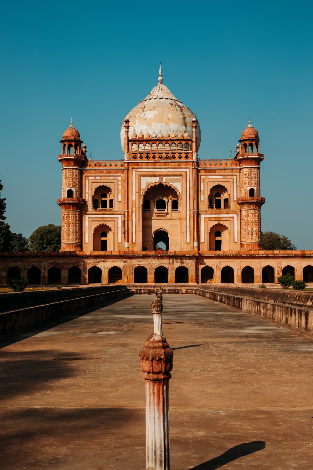 Safdarjung's Tomb in New Delhi, India