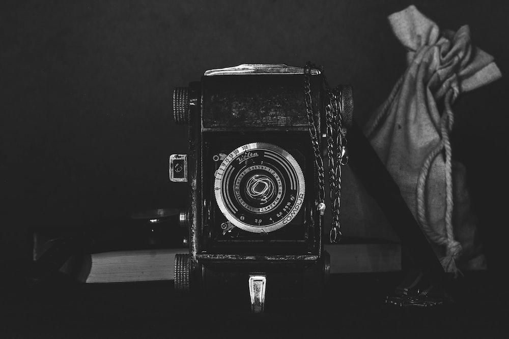black and gray land camera