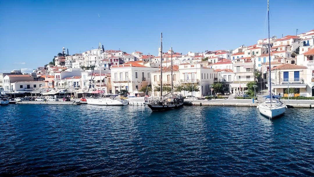 Bay at Poros, Greece