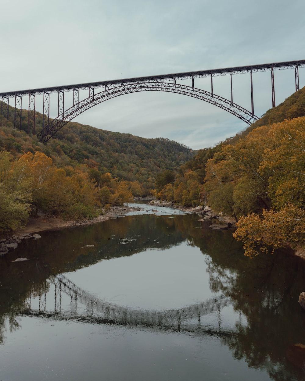 New River Gorge Bridge Arch bridge in Victor, Fayette County, West Virginia