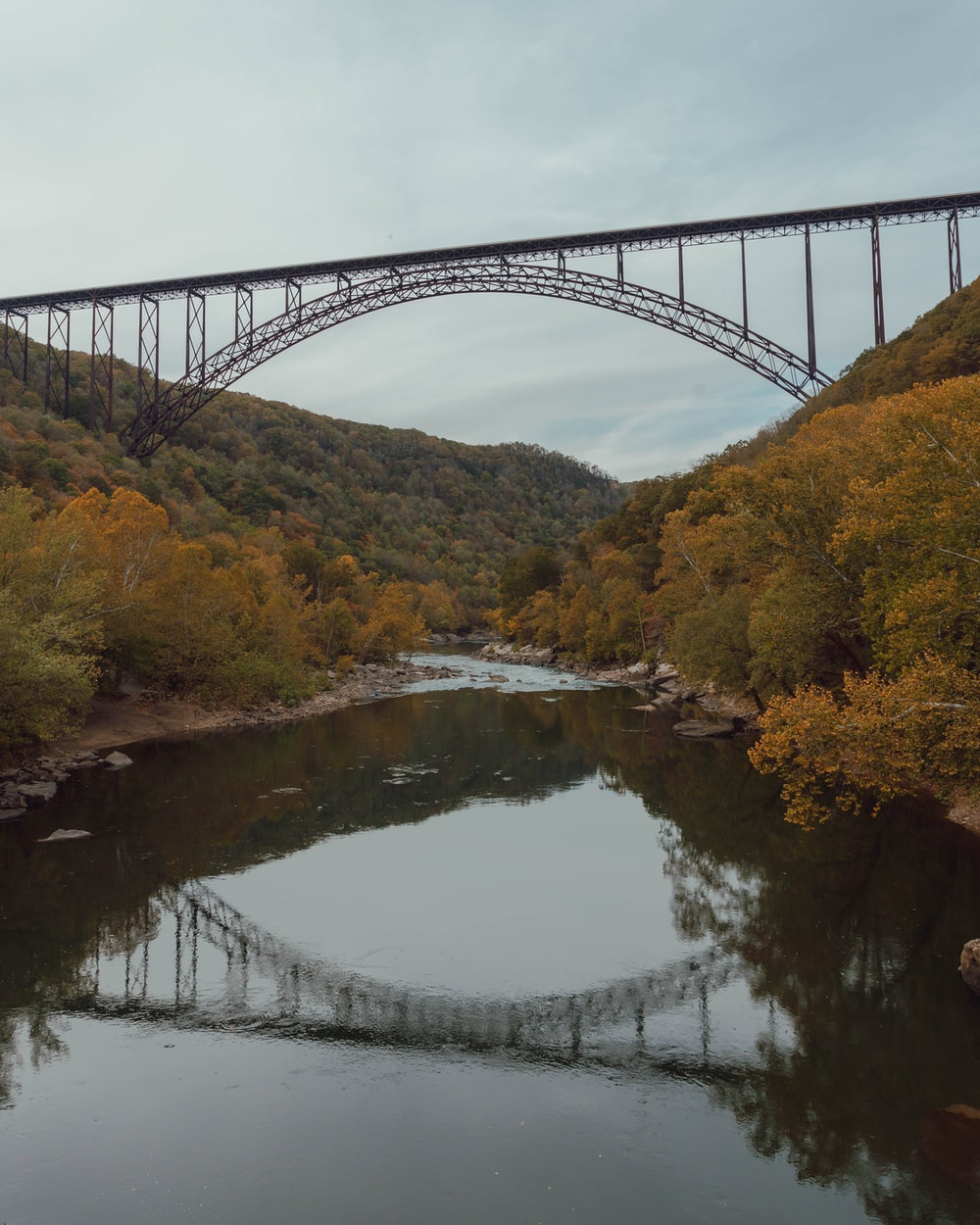 New River Gorge Bridge Arch bridge in Victor, Fayette County, West Virginia