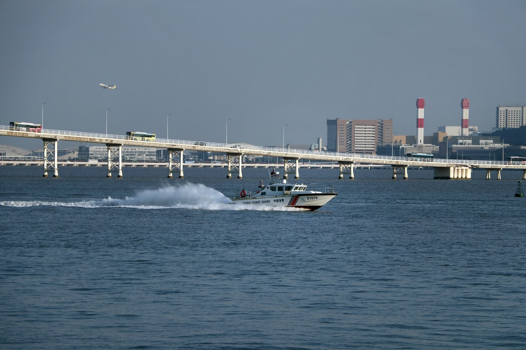 China Coast Guard speedboat Patrols Macau Waters