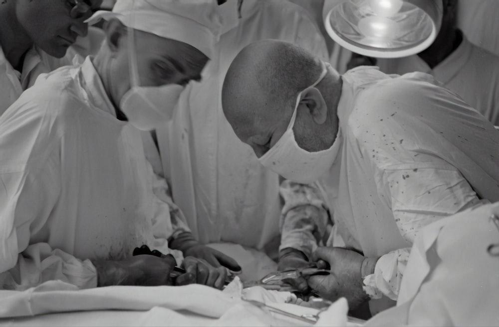 doctors doing operation
