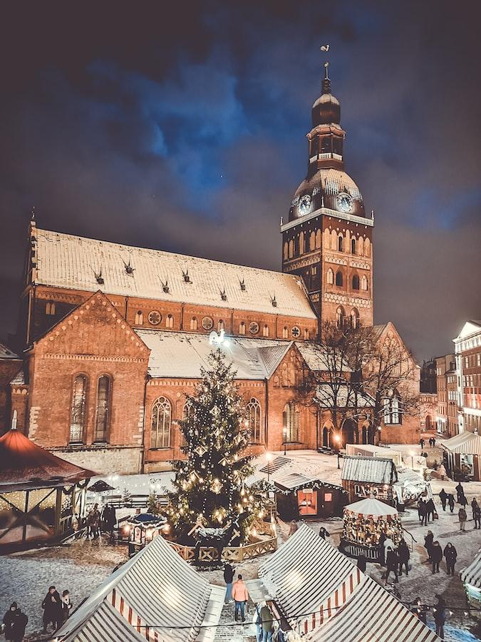Dome square, Riga