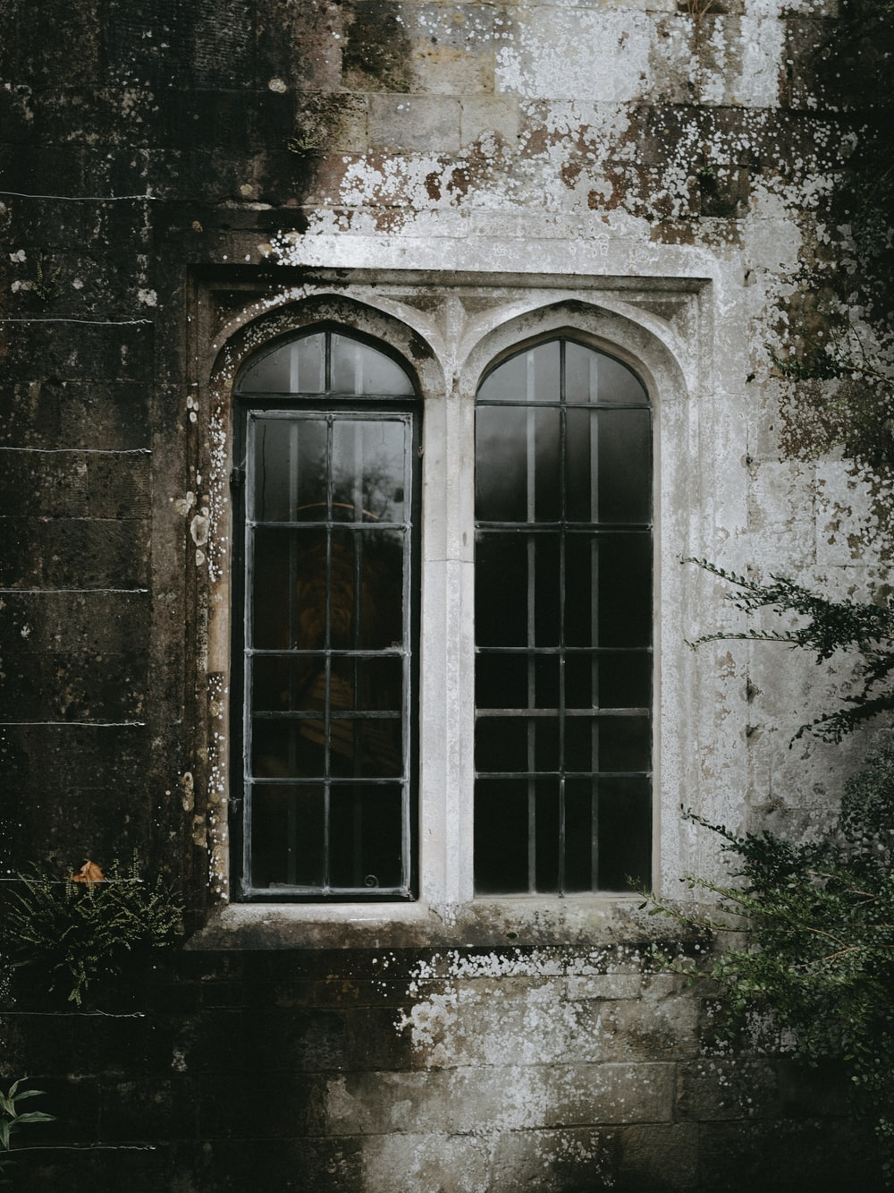 building with closed windows