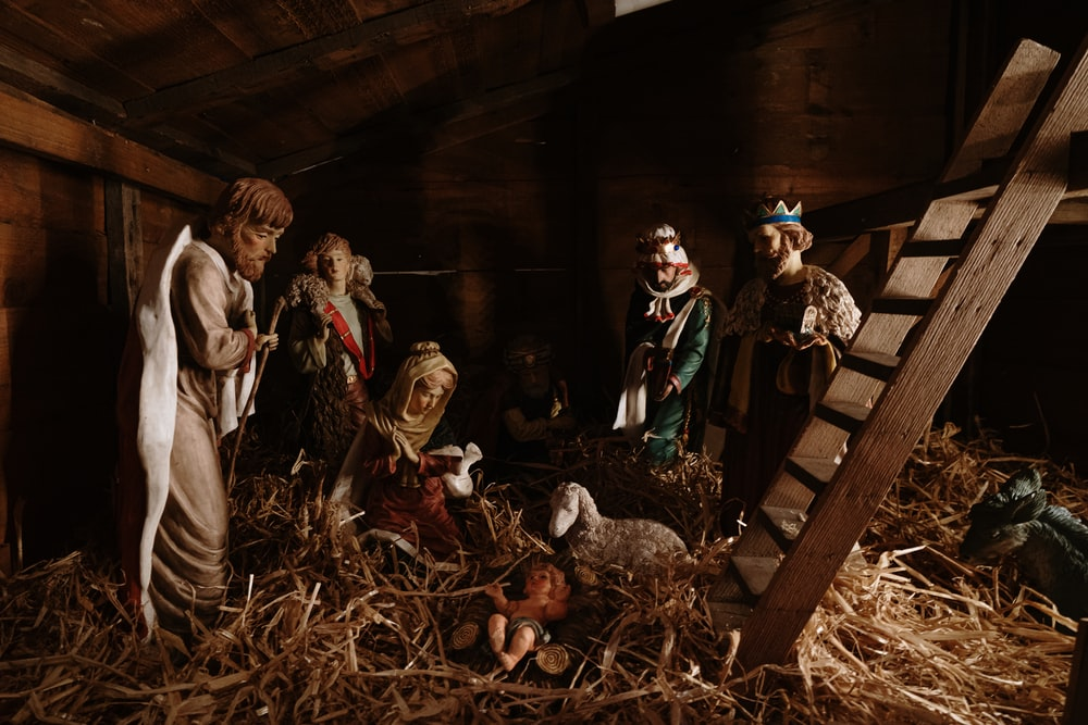 The Nativity figurines
