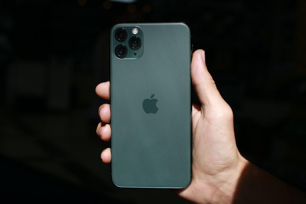 black iPhone 11 Pro Max