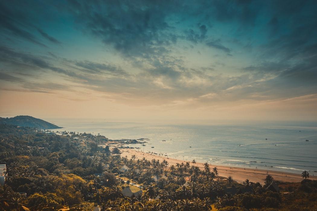 Anjuna Beach of goa