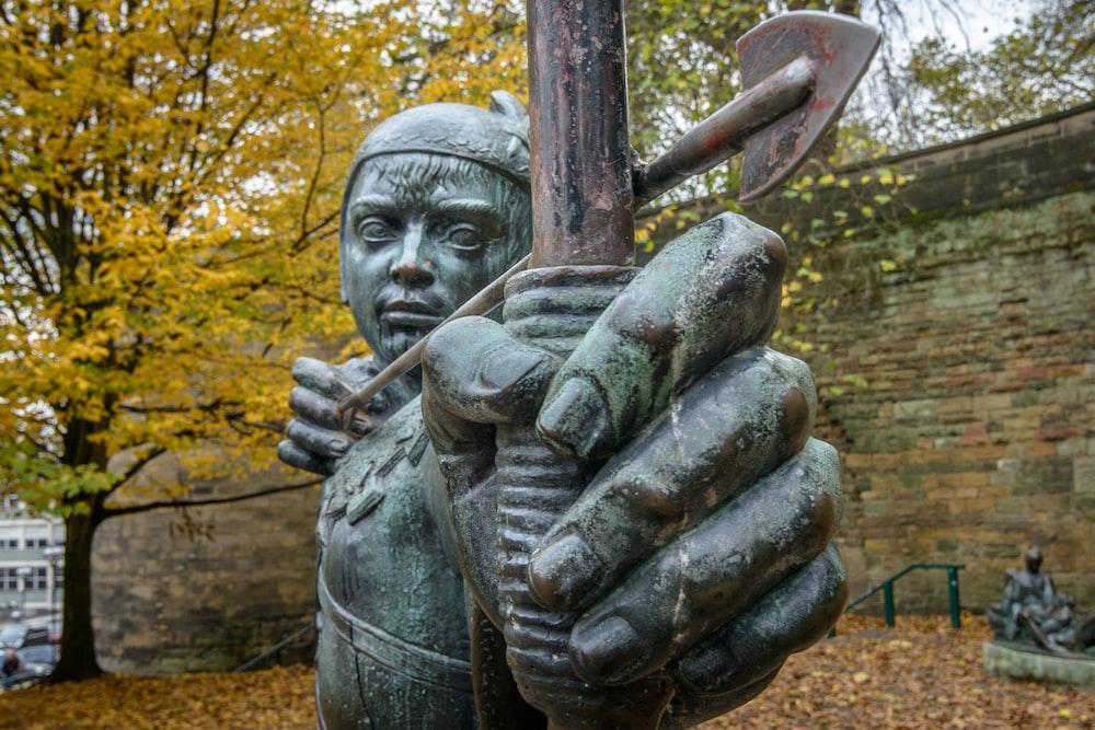 archer statue