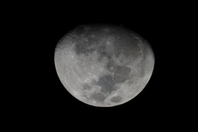 grayscale photography of full moon astronomy teams background