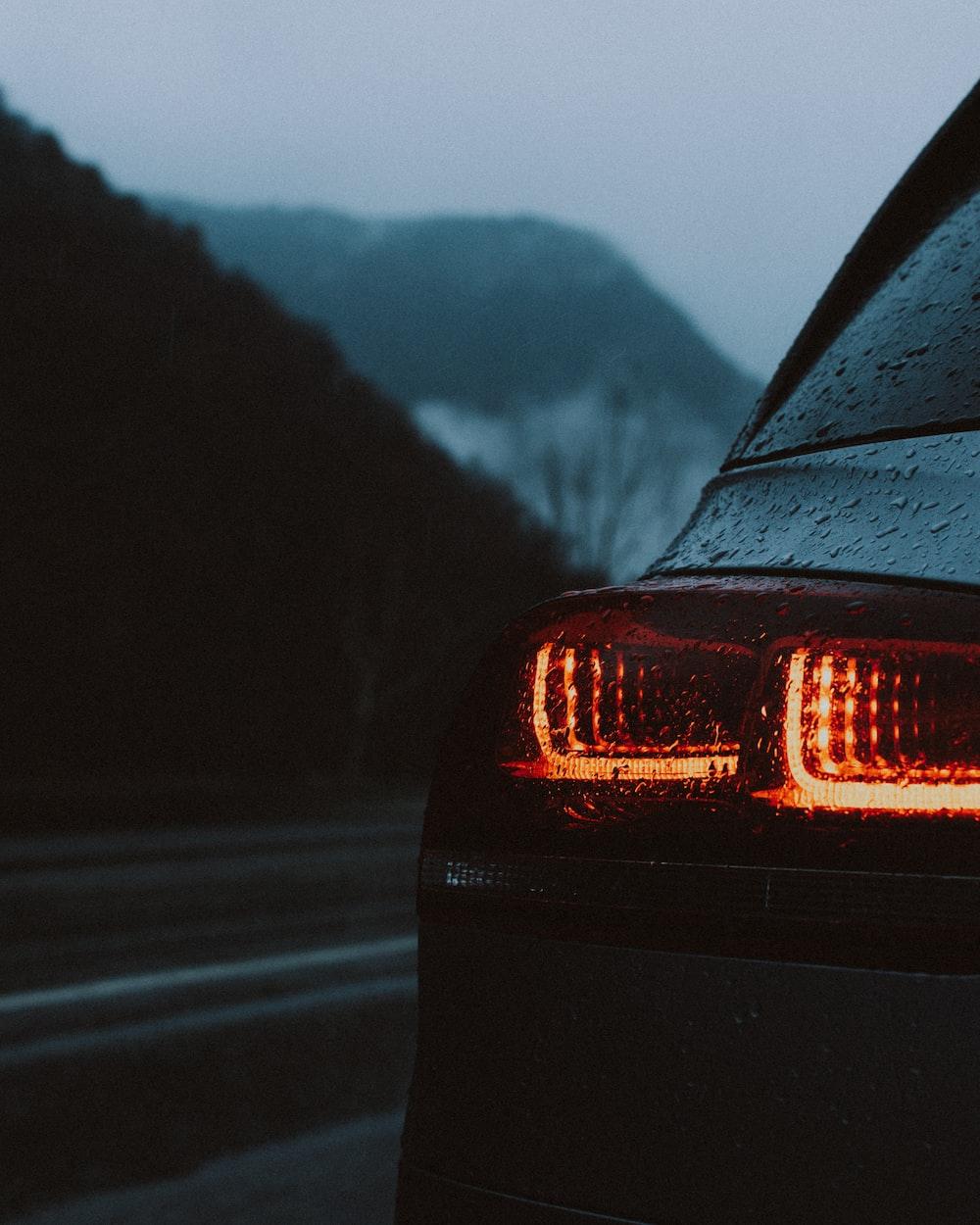 vehicle on road