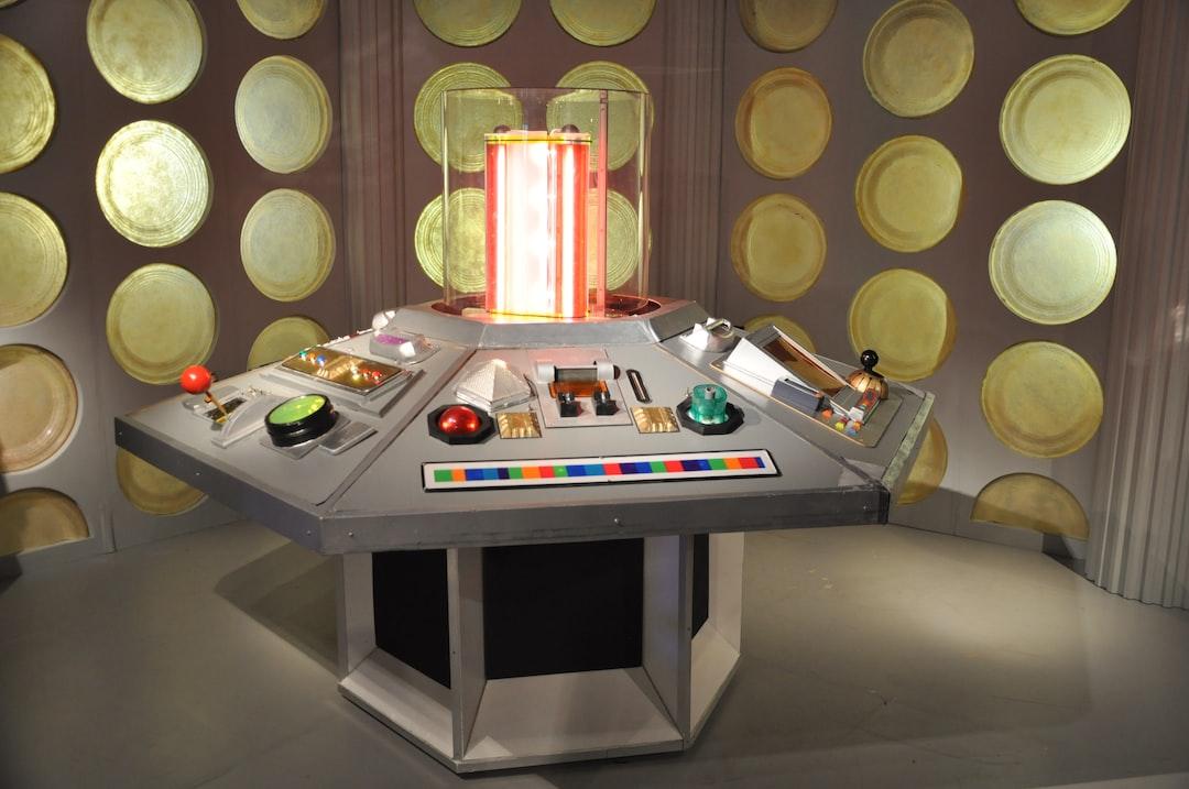 Doctors Who's Tardis Control Panel