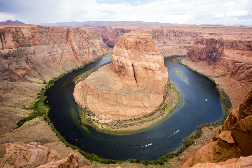 Horseshoe Bend, Grand Canyon during daytime