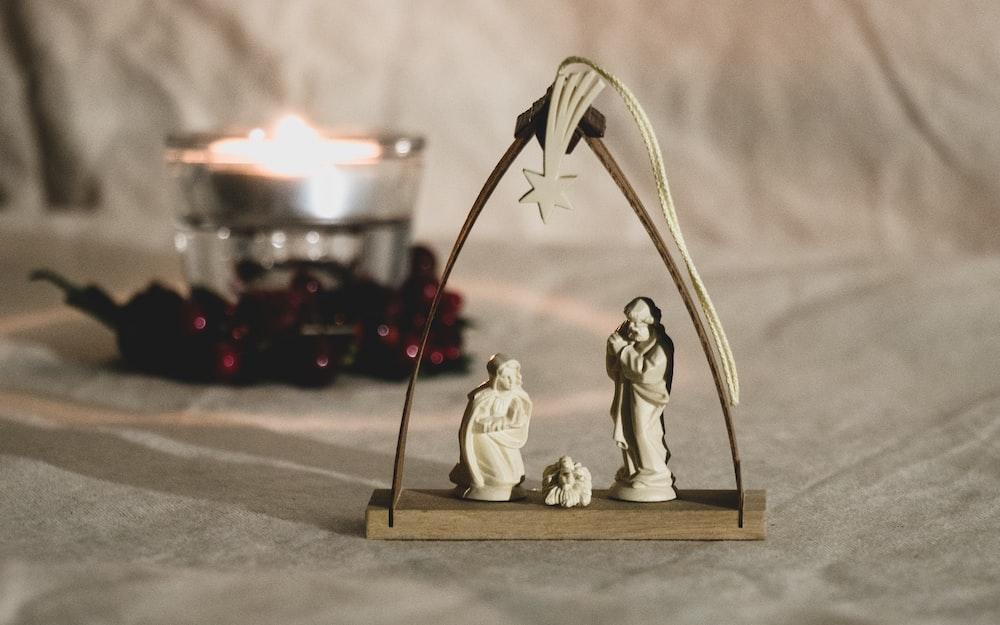 Jesus, Mother Mary and Joseph figurine