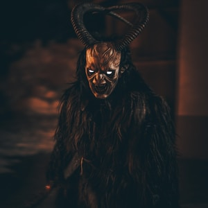 brown demon illustration