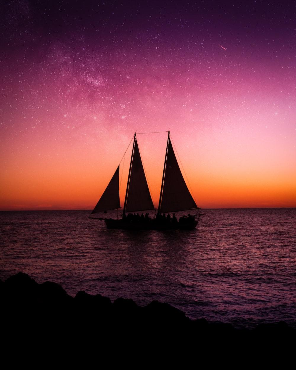 sail ship on sea