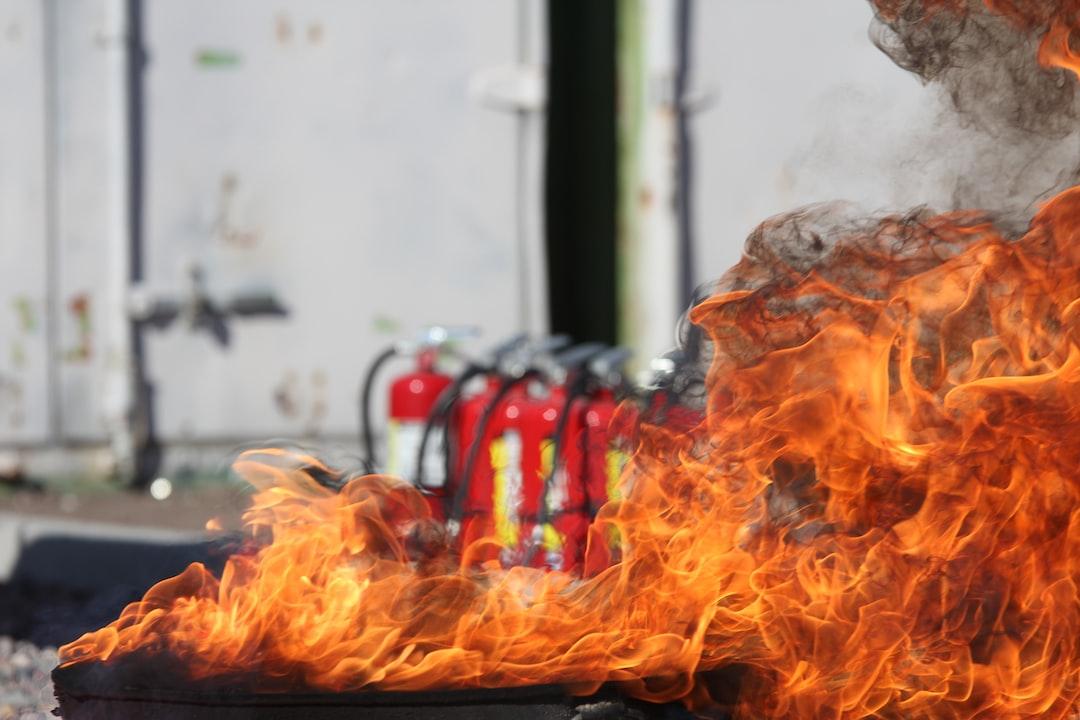 Sicherheitstipps – Feuerlöscher im Haushalt