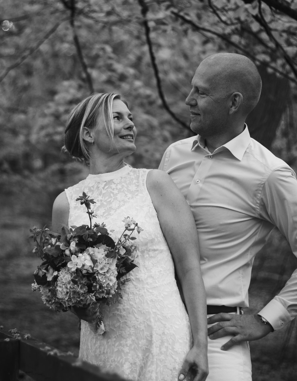 Black And White Wedding Pictures Download Free Images On Unsplash