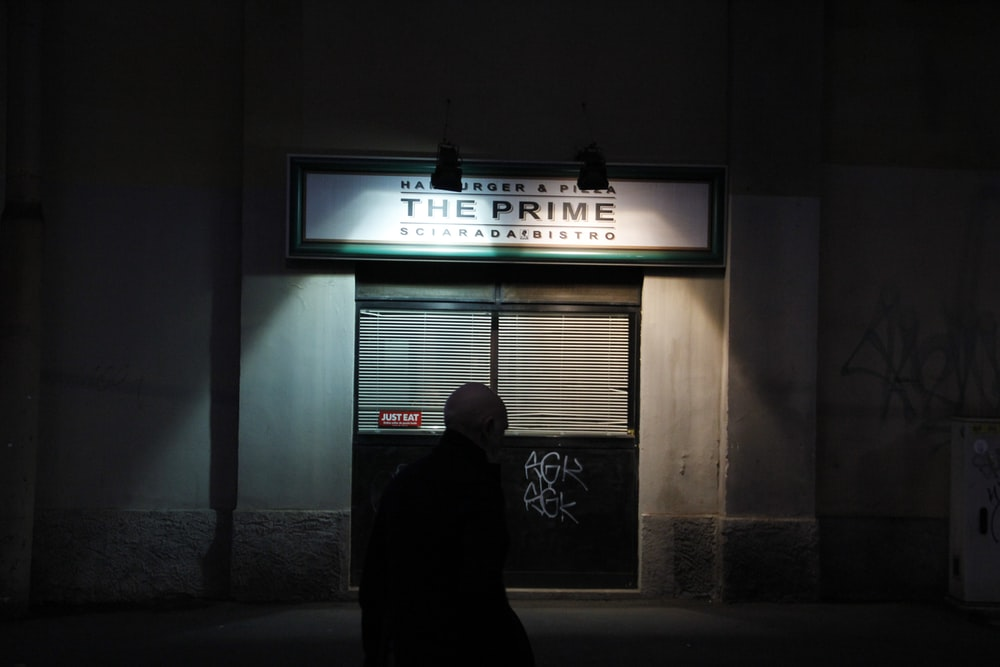 The Prime store signage