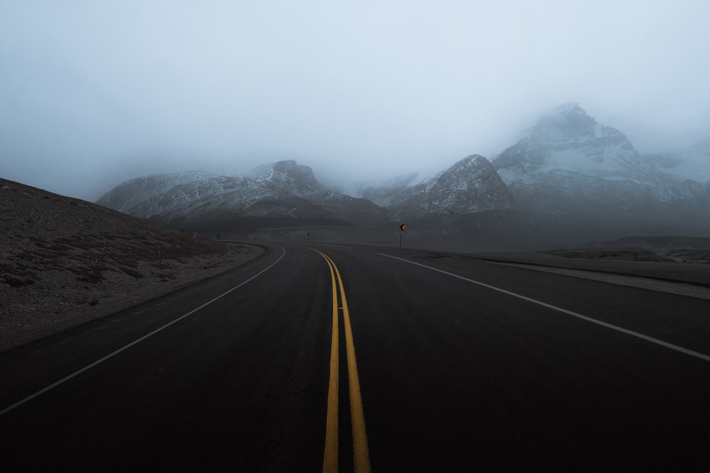 empty road during daytime