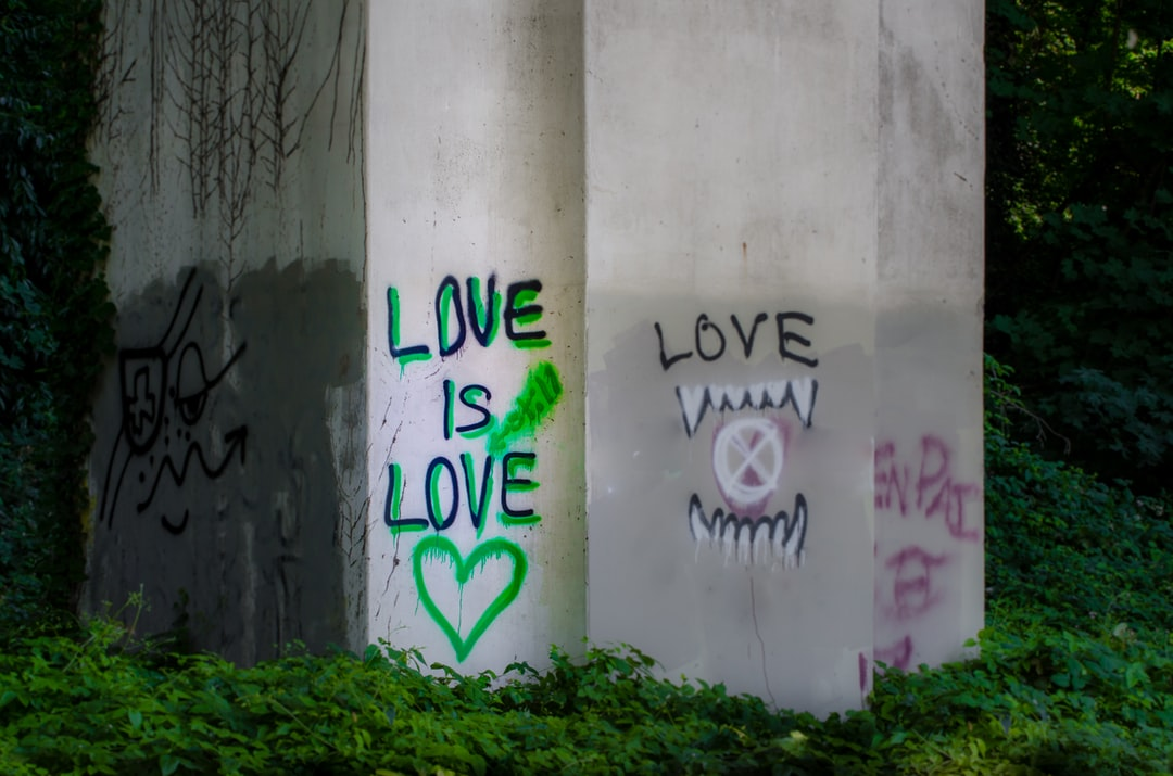 "Graffiti Art ""Love is Still Love"""