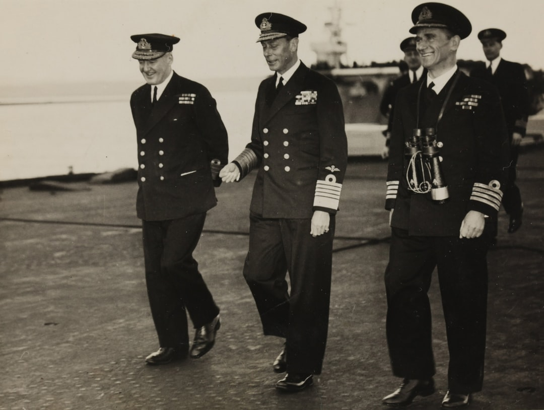King George VI, Able Seaman David Ralph Goodwin, circa 1950