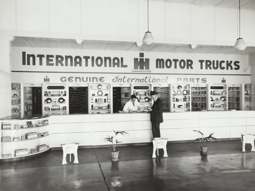 International Harvester, Spare Parts Counter, Sydney, 1947