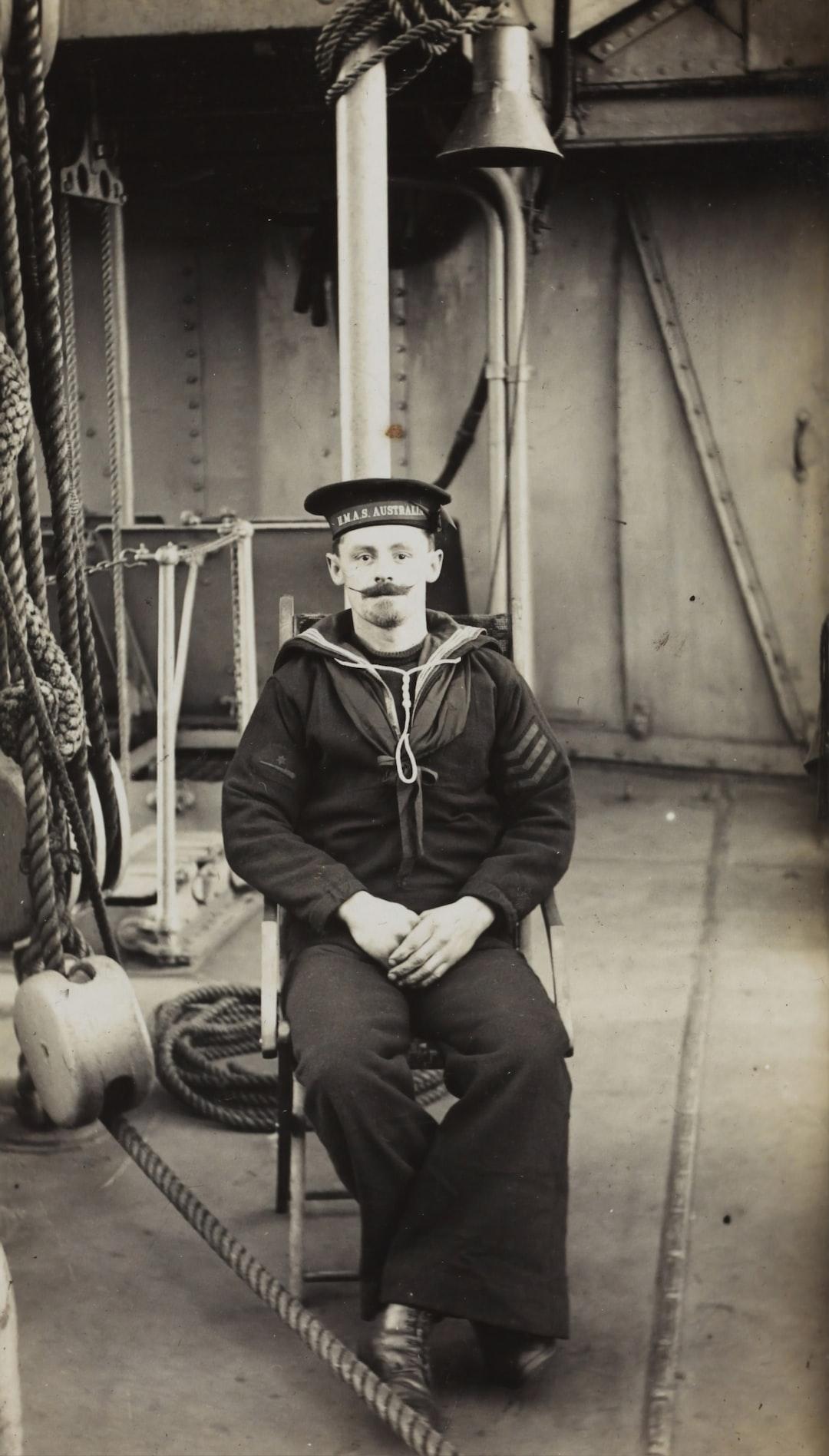 HMAS Australia, Portrait of a Seaman, 1915