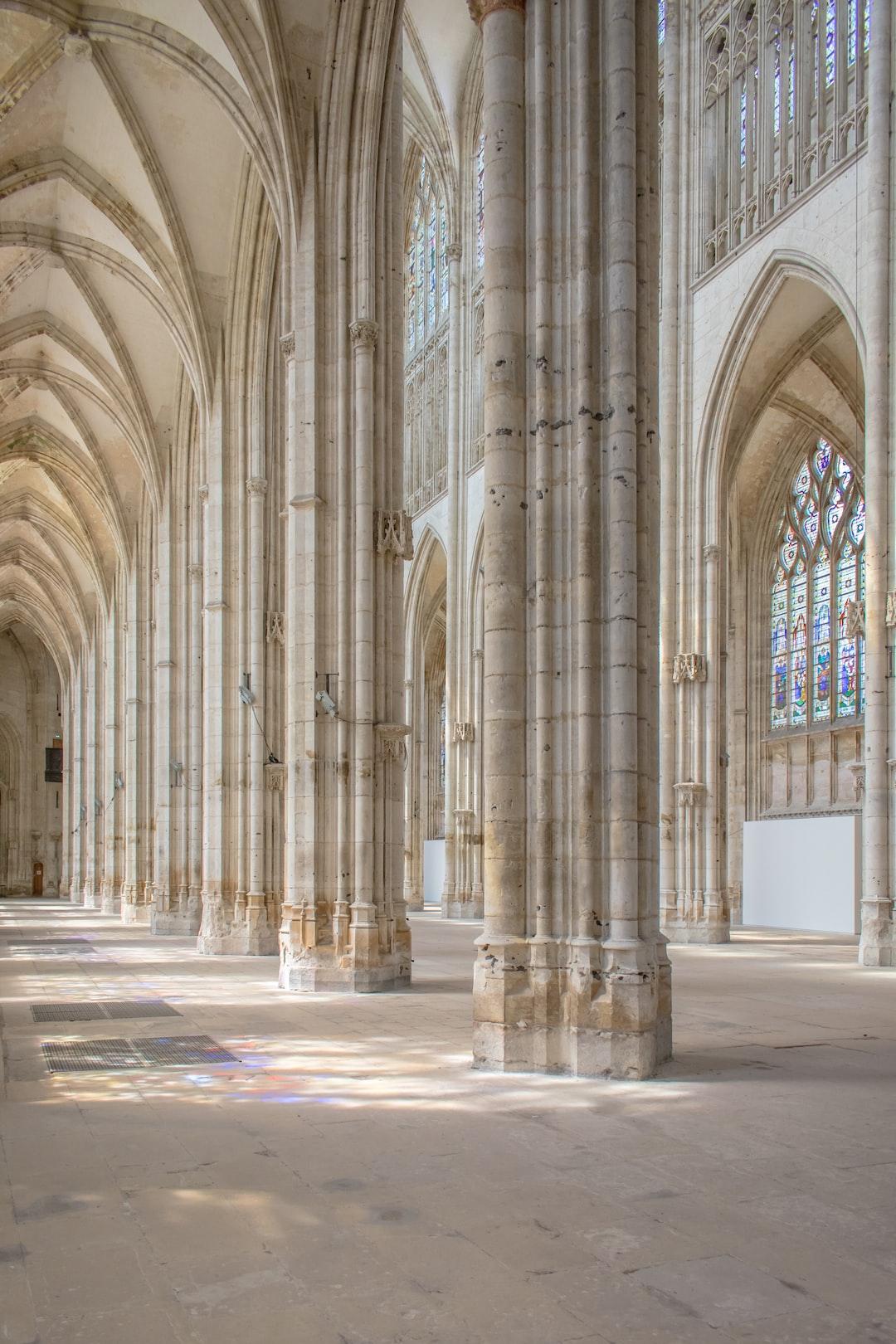 Aristide Cavaillé-Coll organ Saint-Ouen de Rouen, La France
