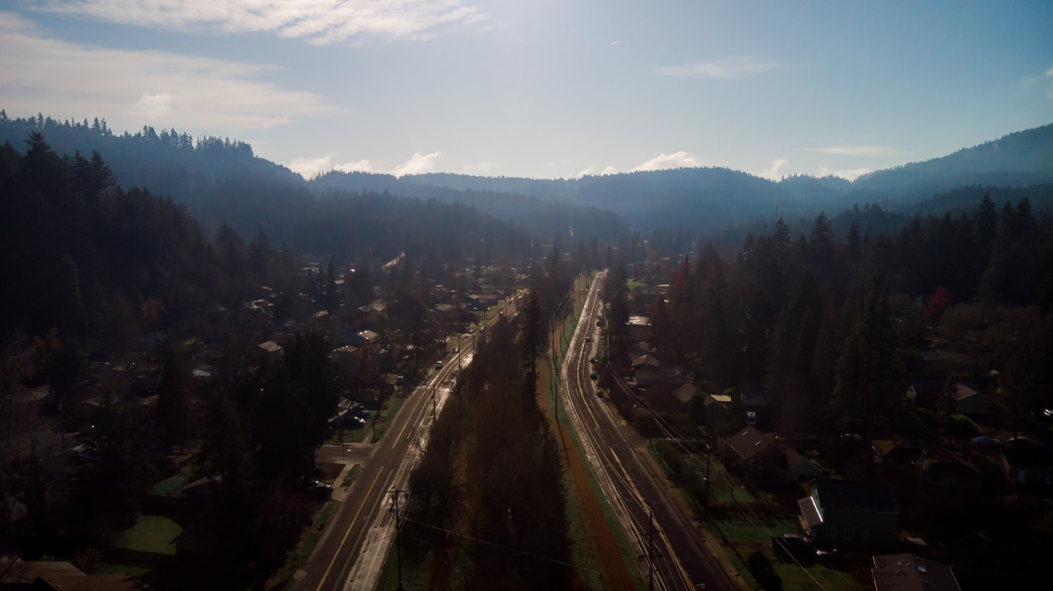 a highway running through Eugene, OR