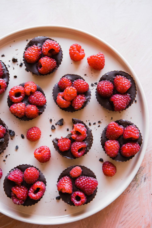 red raspberry cookies